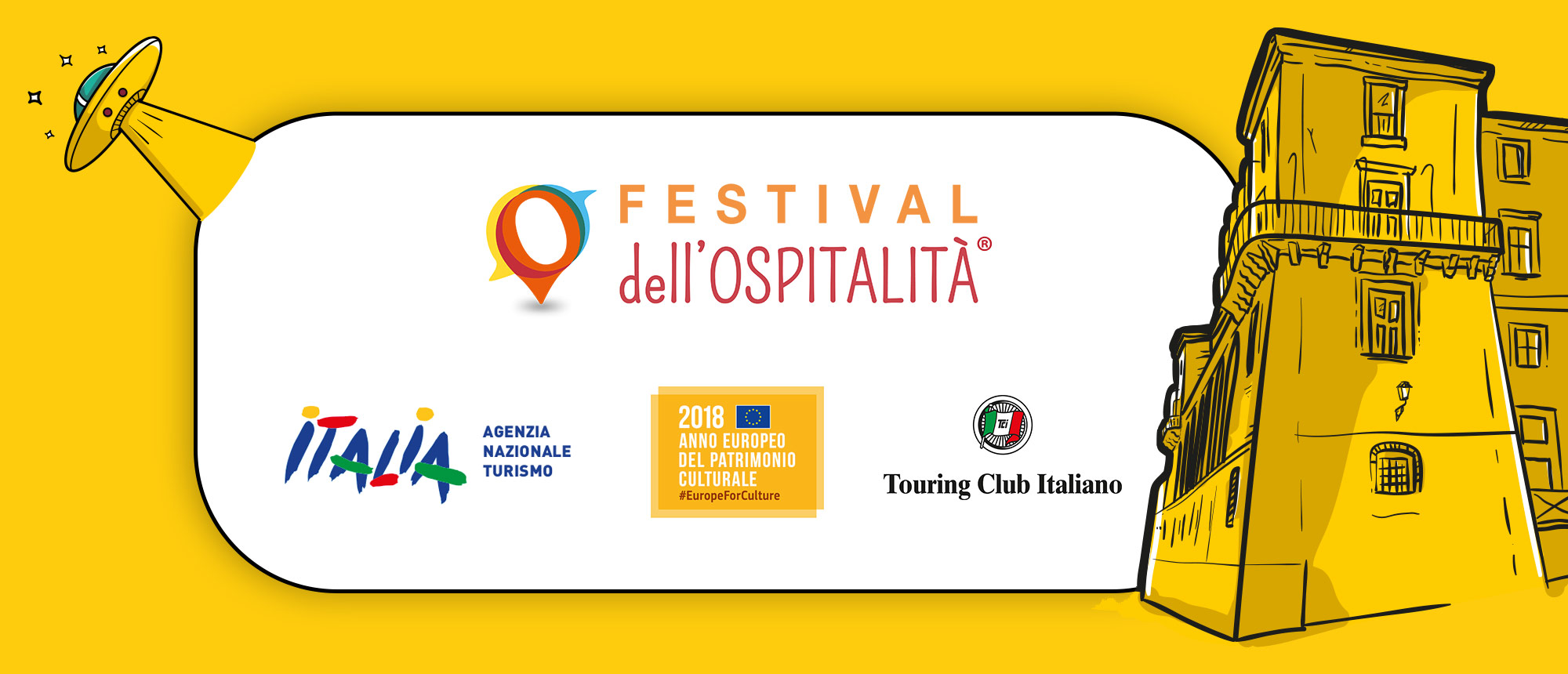 Patrocini Festival dell'Ospitalità